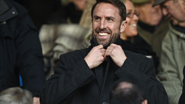 Le sélectionneur de l'Angleterre, Gareth Southgate (OLI SCARFF / AFP)