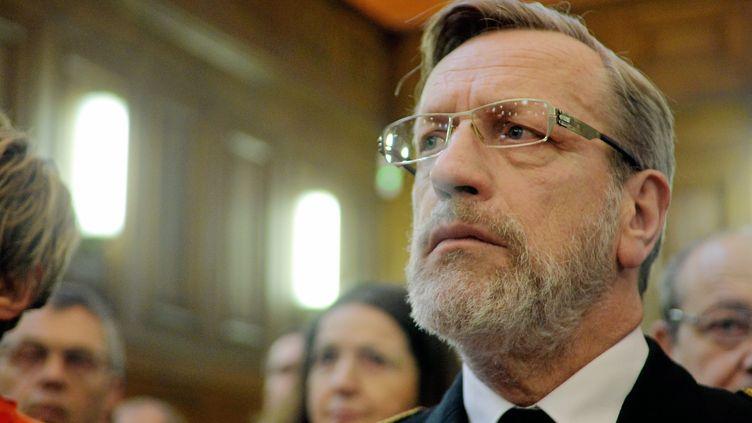 Le préfet de l'Hérault, Pierre Poessel, le 8 janvier 2016 à Montpellier. (MAXPPP)