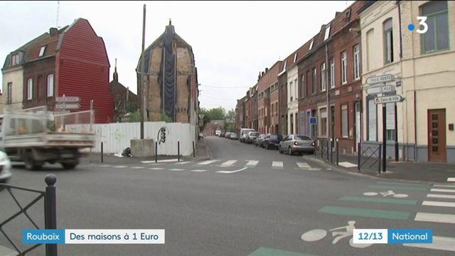Roubaix : des maisons à 1 euro