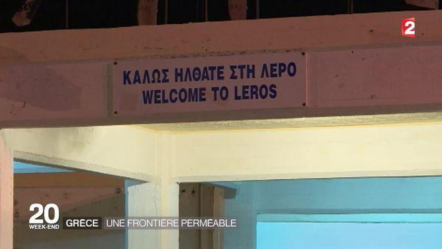 Attentats à Paris : la perméable frontière grecque