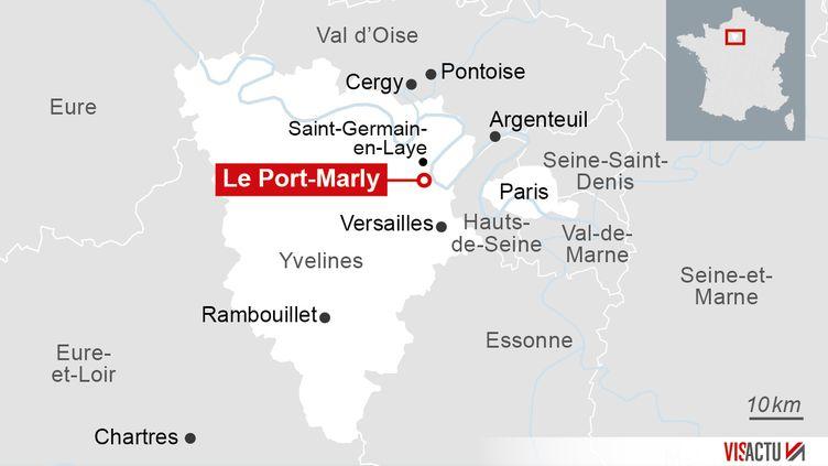 Le Port-Marly, dans les Yvelines. (VISACTU)
