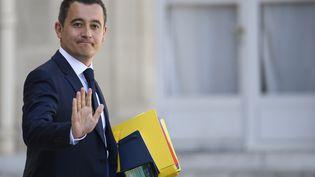 Gérald Darmanin, ministredes Comptes publics, le 27 avril 2018, à Paris. (ERIC FEFERBERG / AFP)