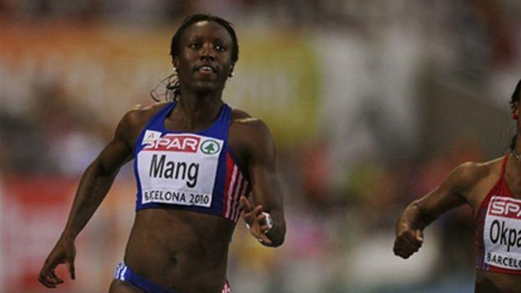 La sprinteuse française Véronique Mang