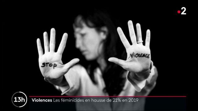 Violences : les féminicides en hausse de 21% en 2019