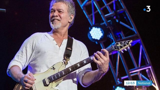 Musique : disparition du guitariste Eddie Van Halen