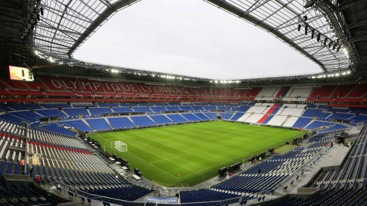 (Samedi, l'Olympique lyonnais recevra Troyes pour le 1e match joué dans le Grand stade © MaxPPP)