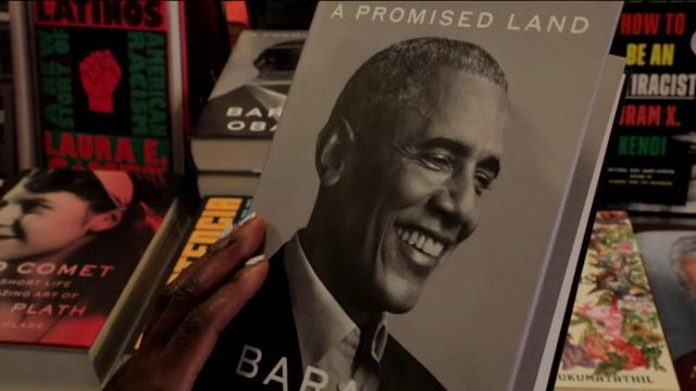 Les mémoires de Barack Obama, une sortie mondiale en grande pompe