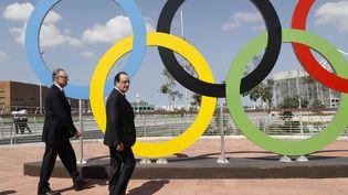 François Hollande à Rio, le 4 août 2016. (JACK GUEZ / AFP)