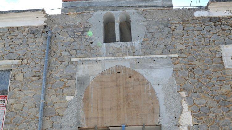 La mosquée de Limoges (Haute-Vienne) avait déjà été taguée fin juillet 2012. (PASCAL LACHENAUD / POPULAIRE DU CENTRE / MAXPPP)