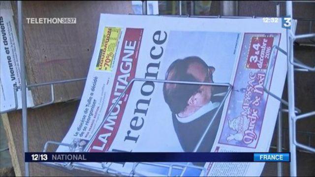 Renoncement de François Hollande : les réactions dans son fief de Corrèze à Tulle