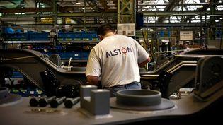 Le site d'Alstom au Creusot (Saône-et-Loire), en 2009 (JEFF PACHOUD / AFP)