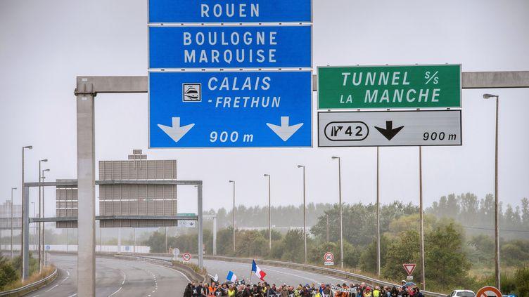 L'autoroute A16. (PHILIPPE HUGUEN / AFP)