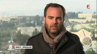 Franck Genauzeau, correspondant de France 2 au Proche-Orient. (FRANCE 2)