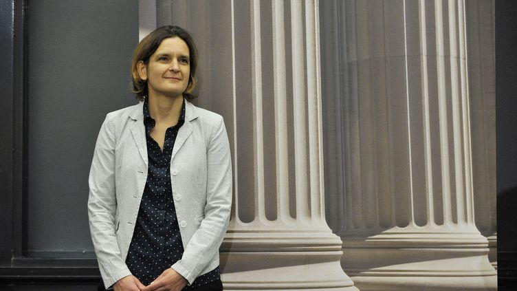 Esther Duflo à Cambridge (États-Unis), le 14 octobre 2019. (JOSEPH PREZIOSO / AFP)