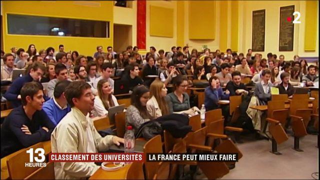 Classement des universités : la France peut mieux faire