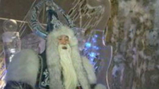 En Sibérie aussi, le père Noël, Chyskhaan, est parti distribuer ses cadeaux aux enfants