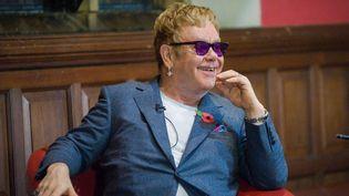 Elton John, novembre 2015  (Roger Askew/REX Shutterstock / SIPA)