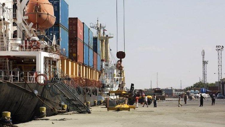 Port de Berbera, au Somaliland (ZACHARIAS ABUBEKER / AFP)