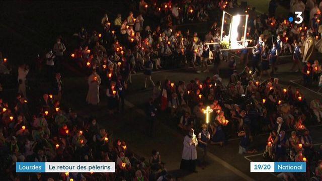 Lourdes : les pèlerins sont de retour