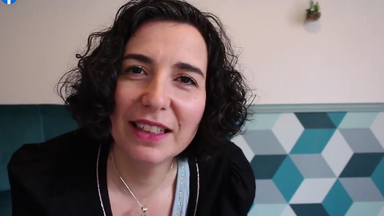Laetitia Heuveline,journaliste à France Bleu Gironde, à l'origine du Groupe de parole Covid longsur Facebook. (CAPTURE D'ÉCRAN FACEBOOK)
