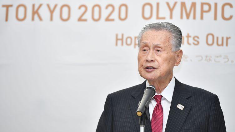 Le président du comité d'organisation des Jeux olympiques de Tokyo, Yoshiro Mori (TOMOKO HAGIMOTO / YOMIURI)