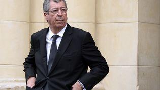 Patrick Balkany, maire (Les Républicains) de Levallois (Hauts-de-Seine), à Levallois, le 7 mai 2015. (BERTRAND GUAY / AFP)