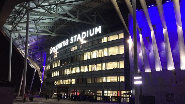 Le stade Groupama Stadium à Décines doit accueillir le match OL - Juventus Turin, mercredi 26 février. (ROMAIN BERCHET / FRANCE-BLEU NORD)