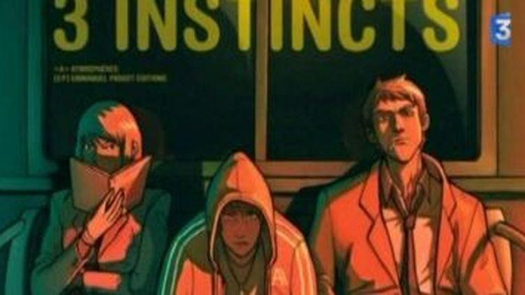 """Julien Parra et ses """"3 instincts"""" au Salon du Livre de Paris  (Culturebox)"""