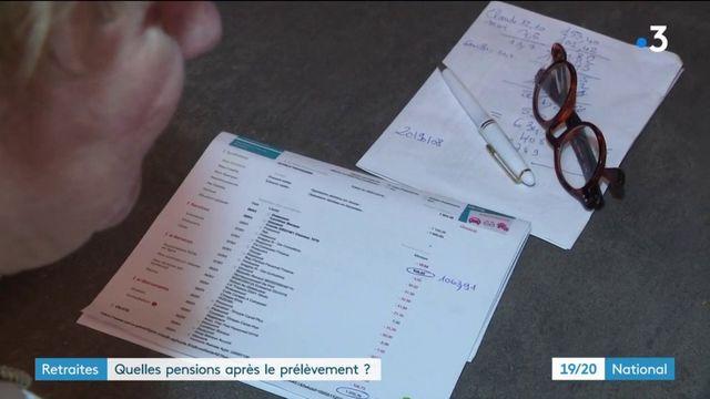 Prélèvement à la source : quelles pensions les retraités ont-ils touchées ?