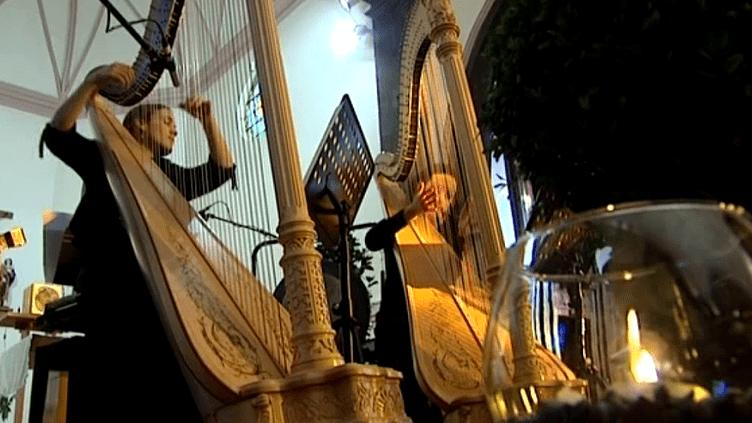 La harpe en festival:Duo Nefeli  (France3/culturebox)