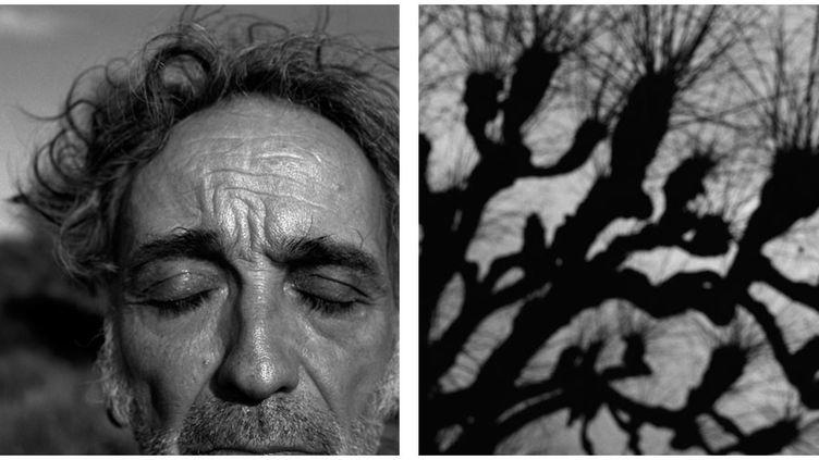 "Alberto García-Alix. A gauche, ""Autoportrait, Formentera"", 2010-A droite, ""Témoin d'un crime"", 2010  (Alberto García-Alix – Courtesy the artist, kamel mennour, Paris, et galería Juana de Aizpuru, Madrid)"