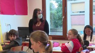 Covid-19 : fin du port du masque à l'école dans 47 départements (FRANCE 3)