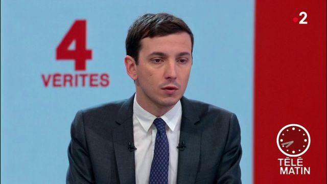 Les 4 Vérités - Immigration : « Il faut aller plus vite, c'est certain », dit Aurélien Taché, député LREM