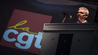 (Thierry Lepaon, secrétaire générale de la CGT, mis en cause pour avoir bénéficié de couteux travaux dans son appartement de fonction et avoir touché une indemnité conséquente après avoir quitté la CGT Basse-Normandie © Maxppp)