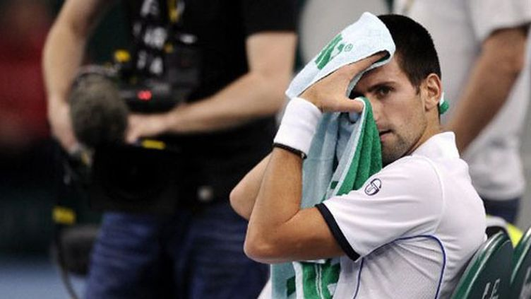Djokovic se repose (MIGUEL MEDINA / AFP)