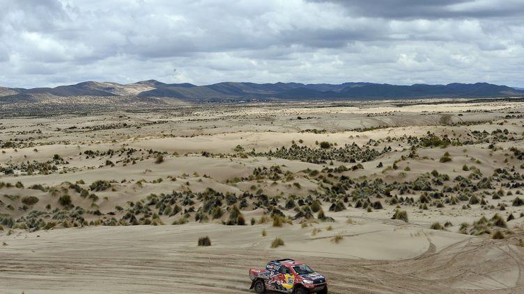 Le Dakar quitte la Bolivie pour l'Argentine (FRANCK FIFE / AFP)