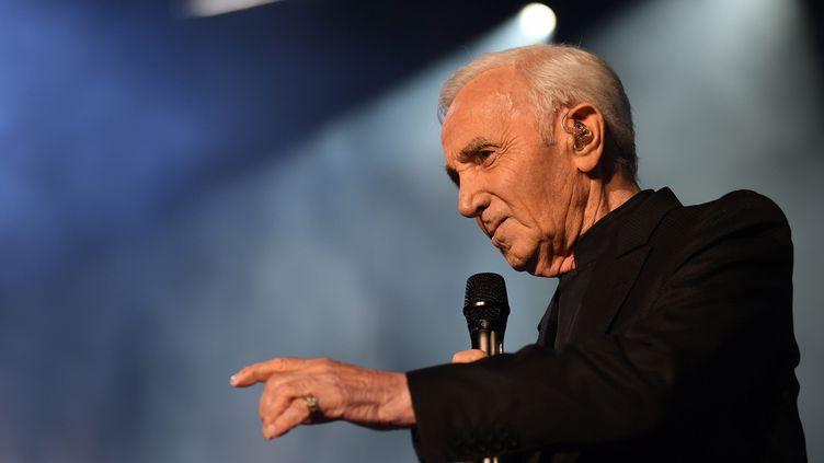 Charles Aznavour à Bercy (2017)  (Eric Feferberg/AFP)