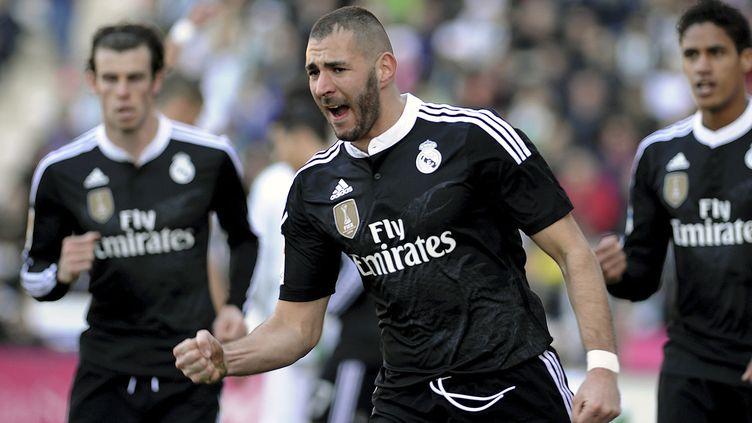 A Cordoue, Karim Benzema a égalisé pour le Real Madrid. (CRISTINA QUICLER / AFP)