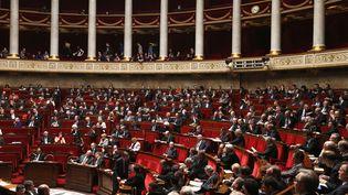 Examen d'un texte au Sénat, le 9 avril 2013. (CHARLES PLATIAU / REUTERS)