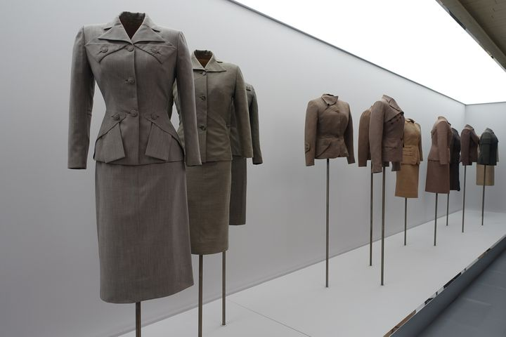 """Exposition """"Adrian et Alaïa. L'art du tailleur"""", janvier 2019 à Paris  (Corinne Jeammet)"""