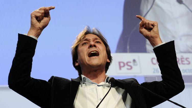 Le président PS du conseil général de l'Essonne, en octobre 2012 à Toulouse. (LIONEL BONAVENTURE / AFP)