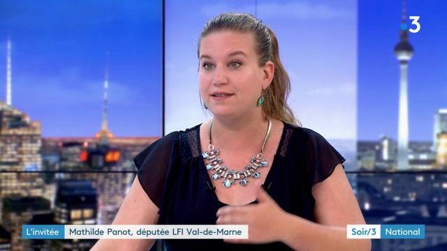 """Mathilde Panot (LFI) : """"Nous ne gagnerons pas seuls"""""""