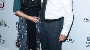Tom Hanks et Rita Wilson en décembre 2015 à Los Angeles. (IMAGE PRESS AGENCY / NURPHOTO)