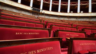 Les bancs de l'Assemblée nationale. (ALAIN JOCARD / AFP)