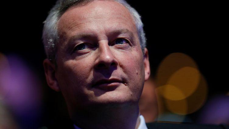 Bruno Le Maire assiste au conseil national des Républicains, le 14 janvier 2017, à Paris. (THOMAS SAMSON / AFP)