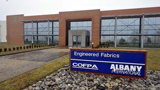 L'entreprise Albany international a annoncé le 23 février 2012 la fermeture de l'usine de Saint-Junien (Haute-Vienne) et la suppression de 134 emplois. (THOMAS JOUHANNAUD / POPULAIRE DU CENTRE / MAXPPP)