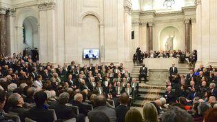 L'Académie française ici en 2016 lors de l'entrée d'Alain Finkielkraut dans l'institution.  (EREZ LICHTFELD/SIPA)