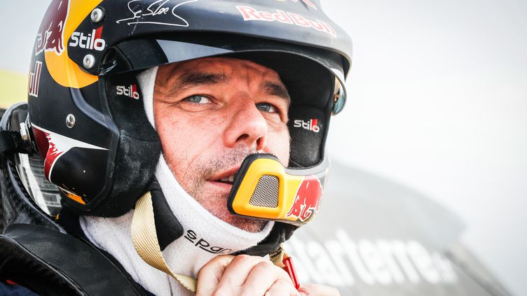 Sébastien Loeb lors du Dakar 2019. (FREDERIC LE FLOC H / DPPI MEDIA)