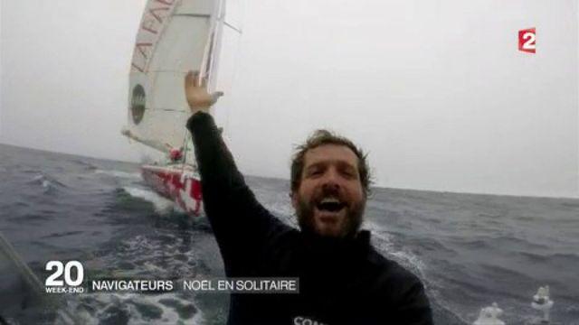 Vendée Globe : le Noël des skippers sur leur bateau