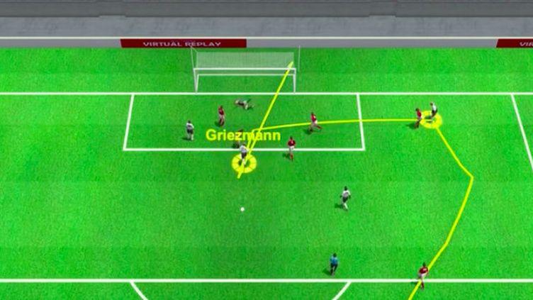 Antoine Griezmann a égalisé pour les Bleus face à la Hongrie. (Droits réservés)